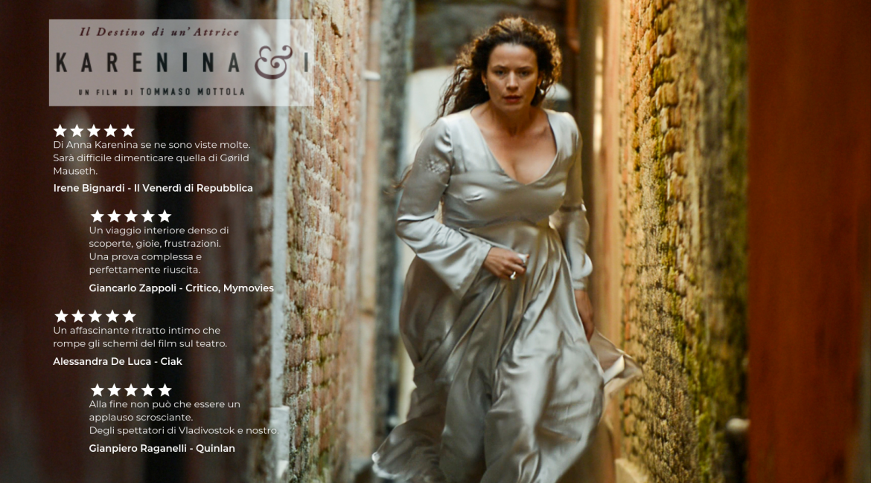 Karenina & I l'avventura di teatro, cinema, letteratura e vita, approda a Firenze