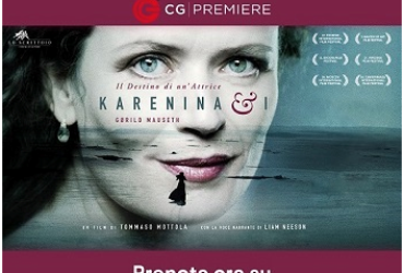 """Il 4 febbraio ore 21.00 """"KARENINA & I"""" in streaming con CG Premiere"""